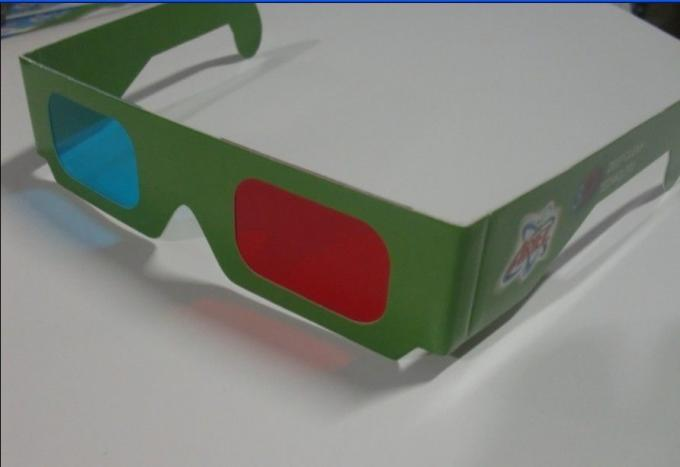 Red And Cyan Anaglyph 3D Glasses
