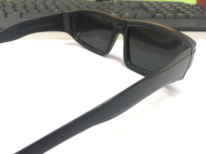 Black Silver Color Solar Viewing Glasses , Anti Scratch Sun Viewing Glasses Density 5