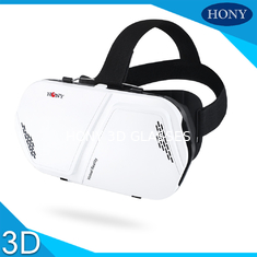 Trung Quốc Portable 3d Virtual Reality Glasses , Promotional Vr 3d Glasses For Mobilphone nhà cung cấp