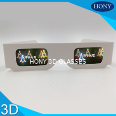 Trung Quốc Christmas Tree Diffraction 3D Fireworks Glasses For Party , CE / Rohs / SGS nhà cung cấp