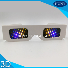 Trung Quốc Most Popular 3d Firework Glasses Clear 13500 Diffraction Effect Pet Materials nhà cung cấp