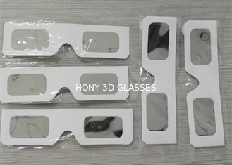 Trung Quốc White Paper Eclipse Solar Filter Glasses , High Safe Solar Sun Viewing Glasses nhà cung cấp