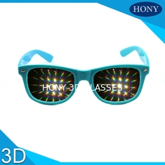 Trung Quốc Trendy Flip Clip 3D Fireworks Glasses With Diffraction Lenses OEM / ODM nhà cung cấp