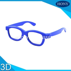 Trung Quốc Cinema Reald 3D Polarized Glasses For Kids , ABS Frame 0.19-0.38mm lens nhà cung cấp