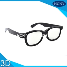 Trung Quốc Plastic Circular Polarized 3D Glasses For Movies With Different Color Frame nhà cung cấp