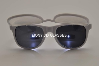 Trung Quốc Flip Up Plastic 3D Diffraction Glasses For Music Party / Dance Event nhà cung cấp