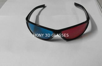 Trung Quốc Plastic Red Cyan 3D Glasses For Home Theater nhà cung cấp