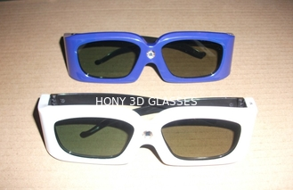 Trung Quốc Green Blue Stereoscopic Universal Active Shutter 3D Glasses Compatible Link nhà cung cấp