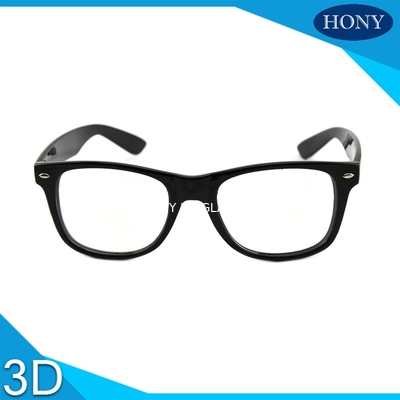 Trung Quốc Cinema White Circular Polarized 3D Glasses foldable arms WITH Anti UV nhà phân phối