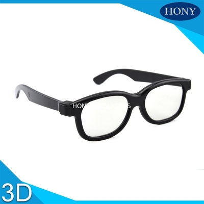 Trung Quốc Plastic Circular Polarized 3D Glasses For Movies With Different Color Frame nhà máy sản xuất