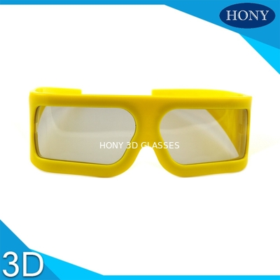 Trung Quốc ABS Frame Plastic Circular Polarized Lenses 3D Theater Glasses With Big Size nhà máy sản xuất