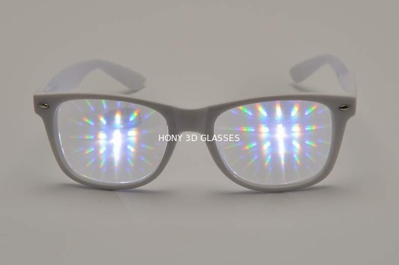 Trung Quốc 0.65mm Thicken Lens Light Diffraction Glasses With Plastic Frame nhà máy sản xuất