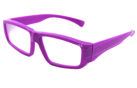Trung Quốc Purple Plastic Diffraction Glasses Use 0.35mm Thickness Lens nhà phân phối