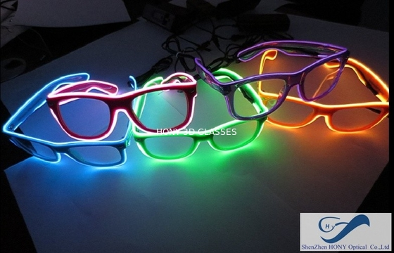 Trung Quốc Popular El Wire Glasses Diffraction Effect Lens For Watching Fireworks nhà phân phối