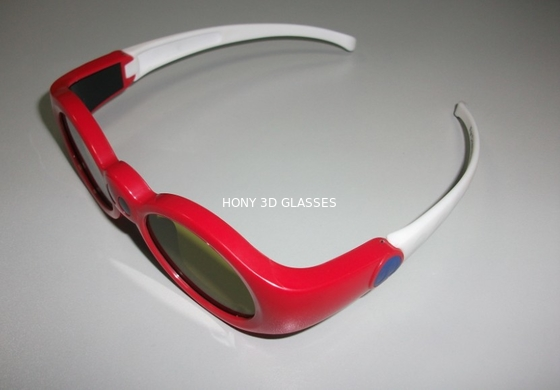 Trung Quốc Red Anaglyph Xpand 3D Shutter Glasses Eyewear For Children At Home nhà phân phối